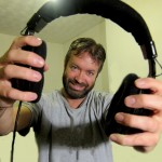 Mark Hodkinson, headphones